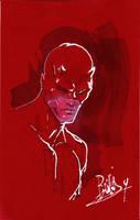 Daredevil on red