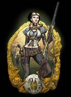 The Mechanical  Huntress by joebenitez