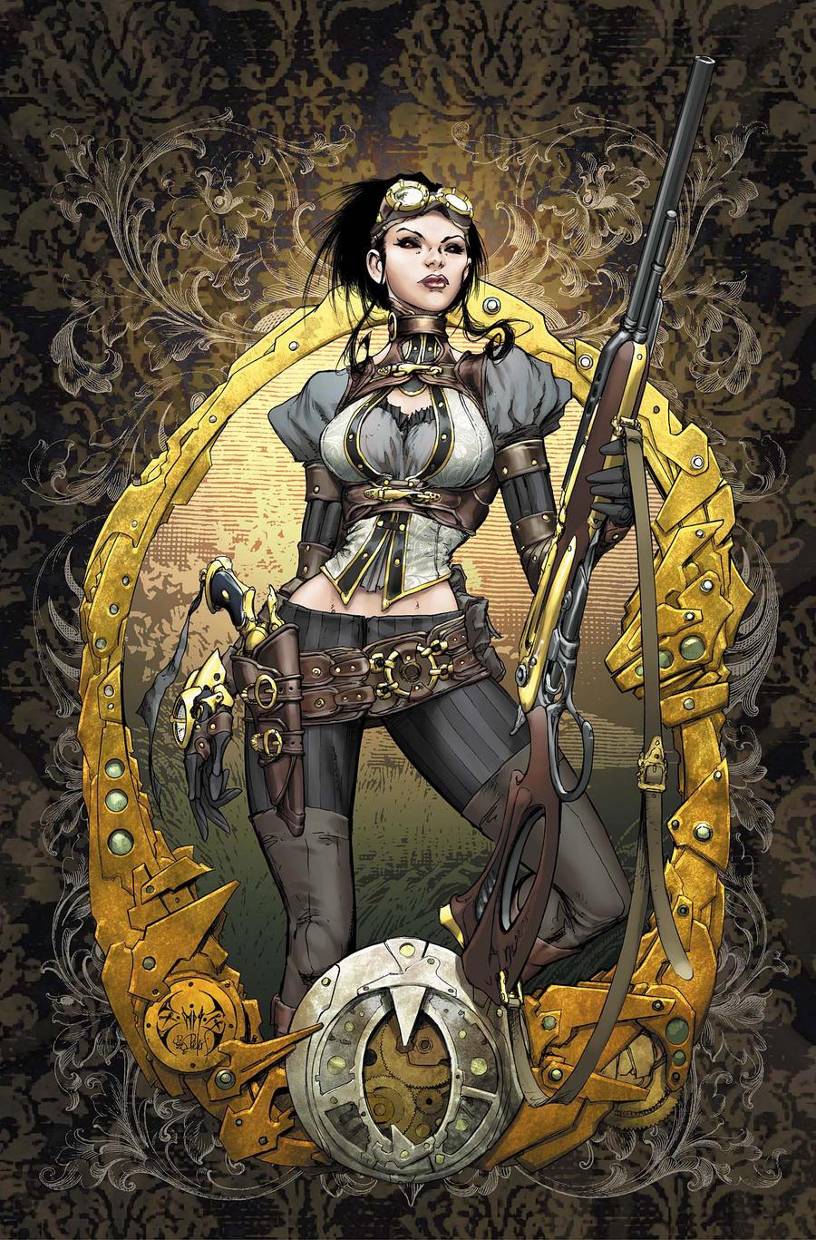 Lady Mechanika 0 Cover colors by joebenitez