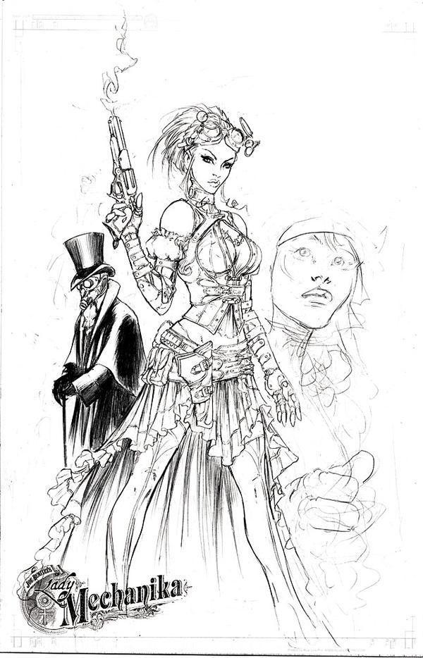 Lady Mechanika concept 2 by joebenitez