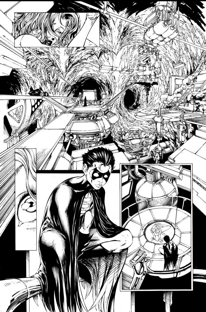 Detective Comics 823 pg 9 by joebenitez