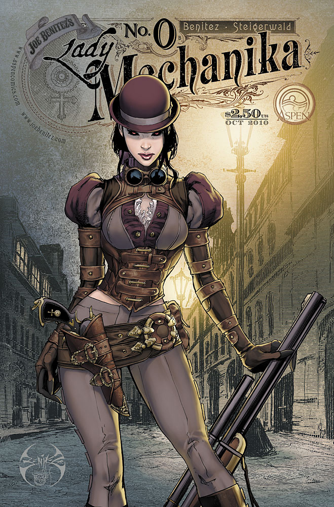 Lady Mechanika 0 cover b by joebenitez