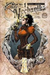 Lady mechanika 1 cover by joebenitez