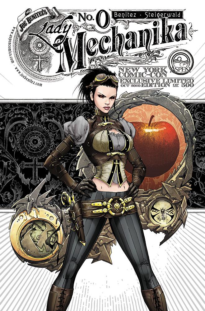 Lady Mechanika 0 NYCC cover by joebenitez