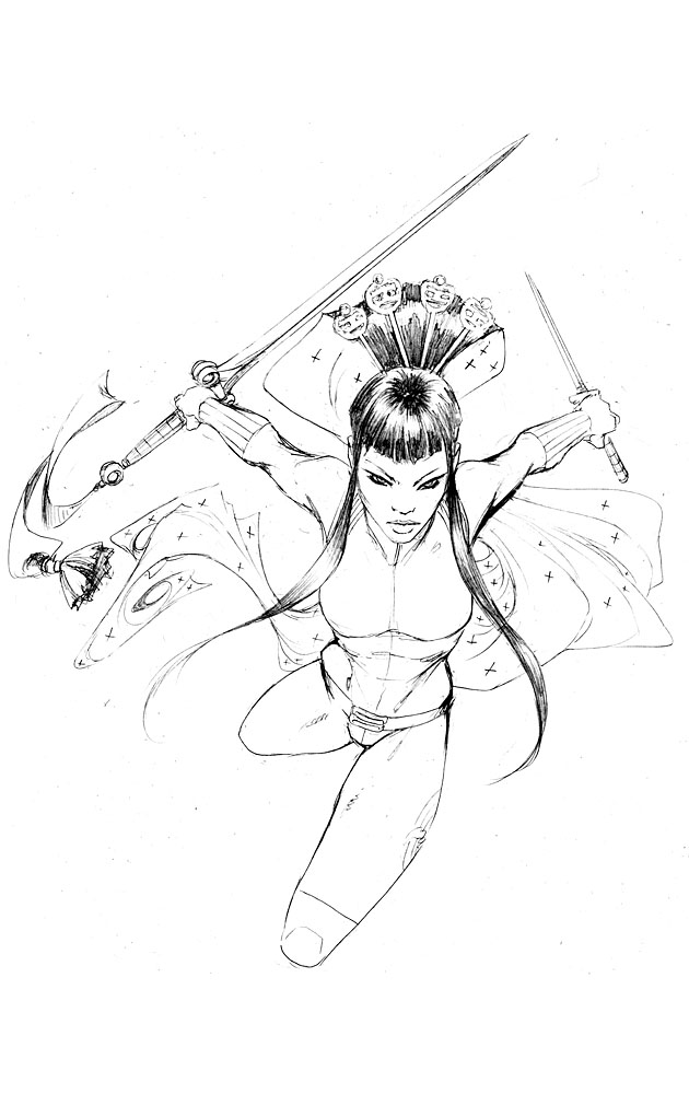 EA Iris 1 vol 2 pencils by joebenitez