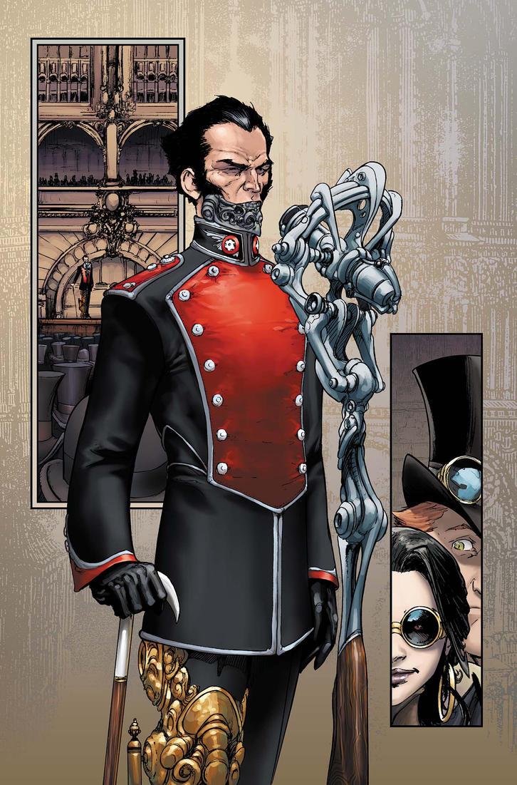 Lord Blackpool  HelioArx uniform by joebenitez
