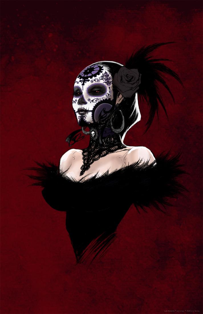 La Dama De La muerte by joebenitez