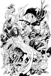 Darkness Magdalena(inks)