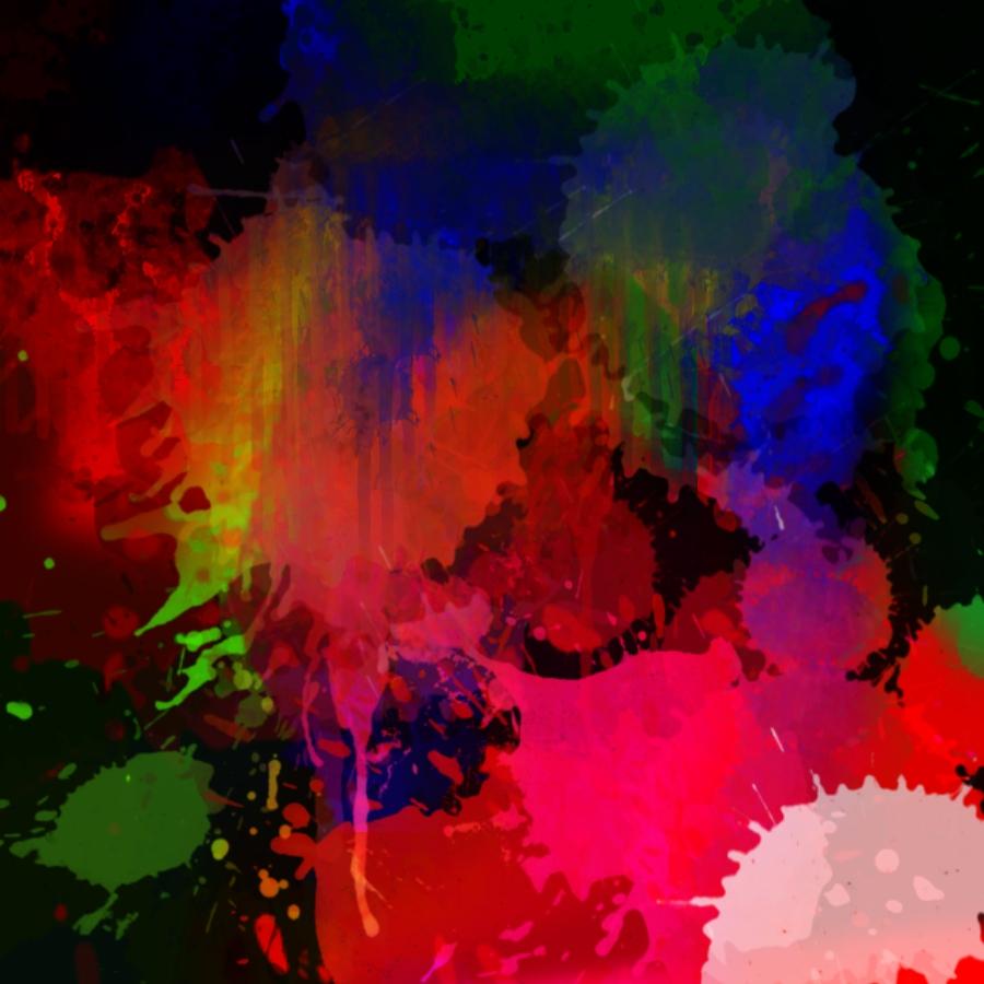 Paint Splatter Wallpaper By J0anna3 On Deviantart