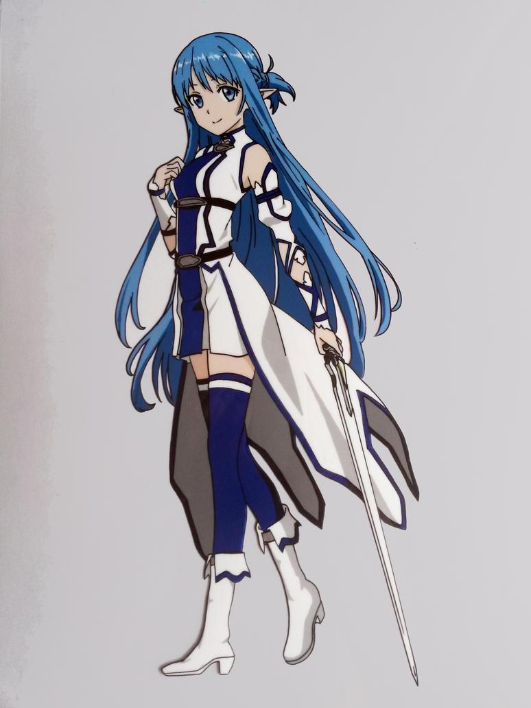 Asuna Yuki by tenro1