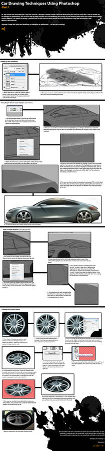 Car Photoshop Tutorial