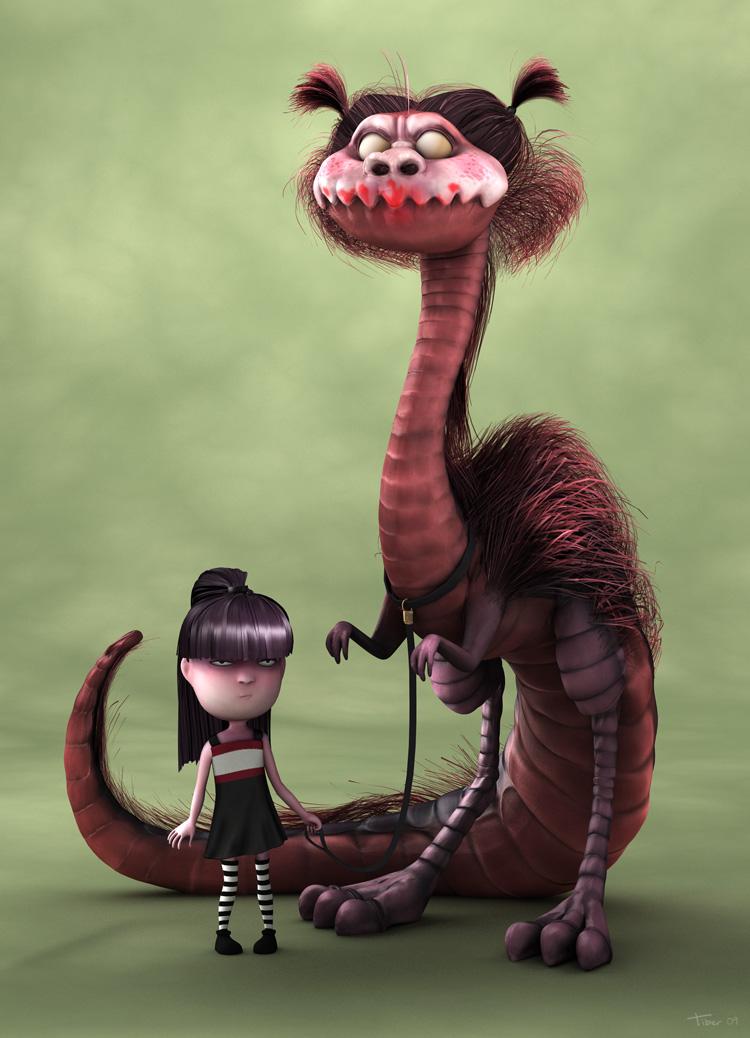 Monster by gtiber