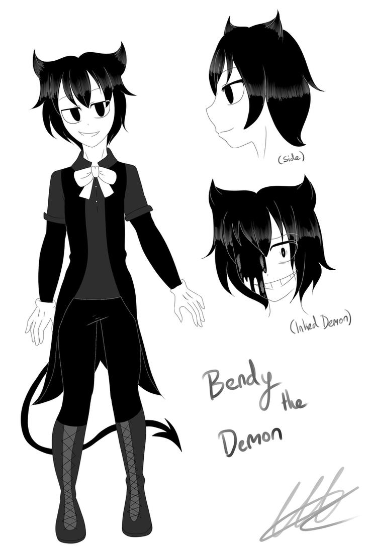 Bendy the Demon by WaterFox-Studios