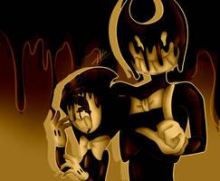 Devil Darling and Ink Demon by WaterFox-Studios
