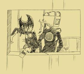 ink_demon_batim | Explore ink_demon_batim on DeviantArt