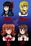 [Redraw] RPG Heroines by Mizu--Kitsune