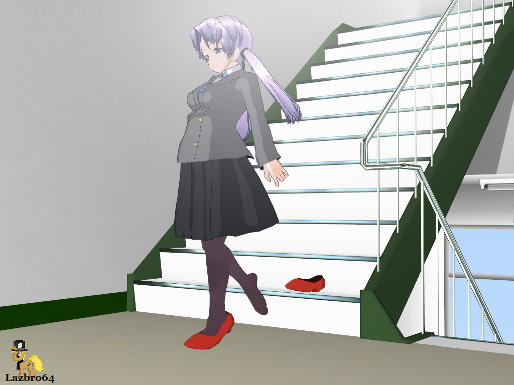 Rena Loses Her Shoe By Lazbro64 On DeviantArt