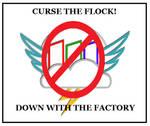 Rainbow factory rebel poster