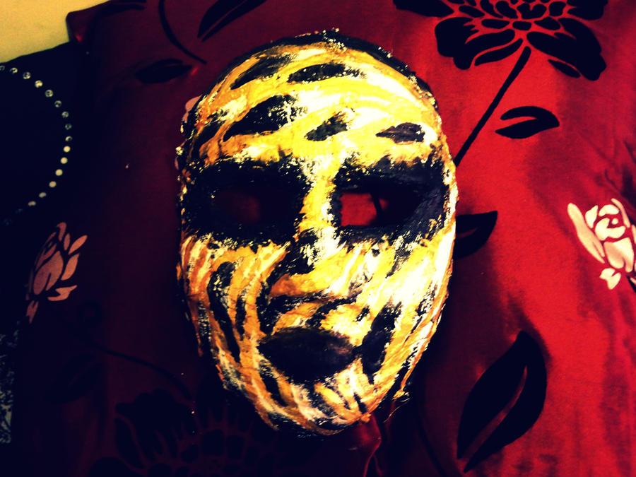 Gold Mask by ColdVerve