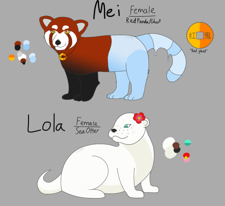 Mei and Lola ref by ThatOneGuy31415