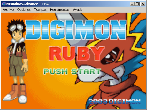 Gba game: Digimon Ruby version by Arshes91 on DeviantArt