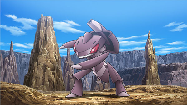 Genesect Agresive Pokemon