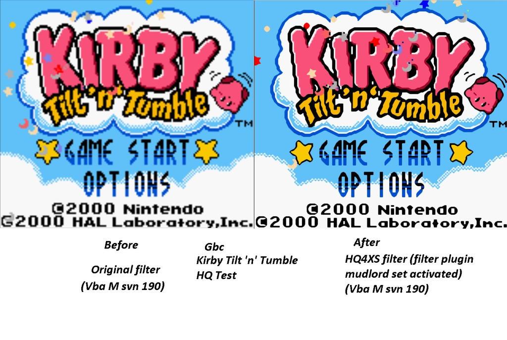 Kirby tilt 'n' tumble HQ test