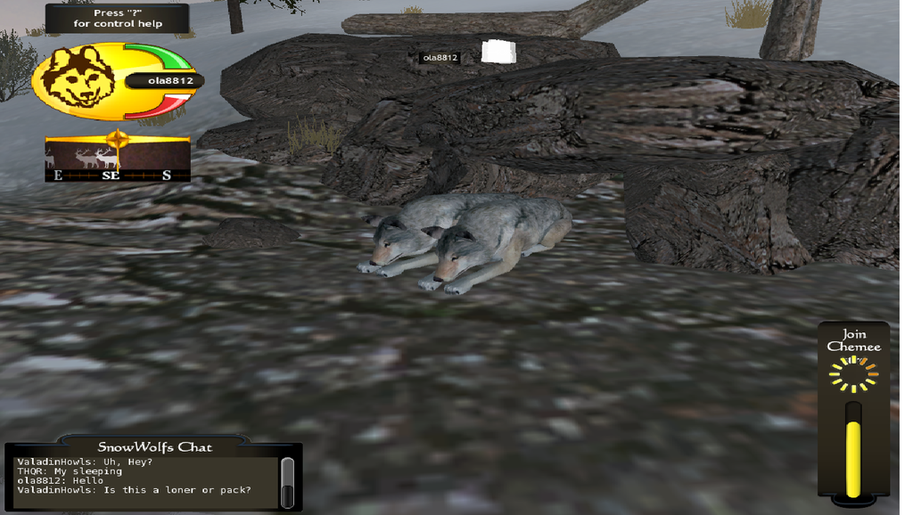 WolfQuest, Multiplayer by InDreamsHappy on DeviantArt - photo#43