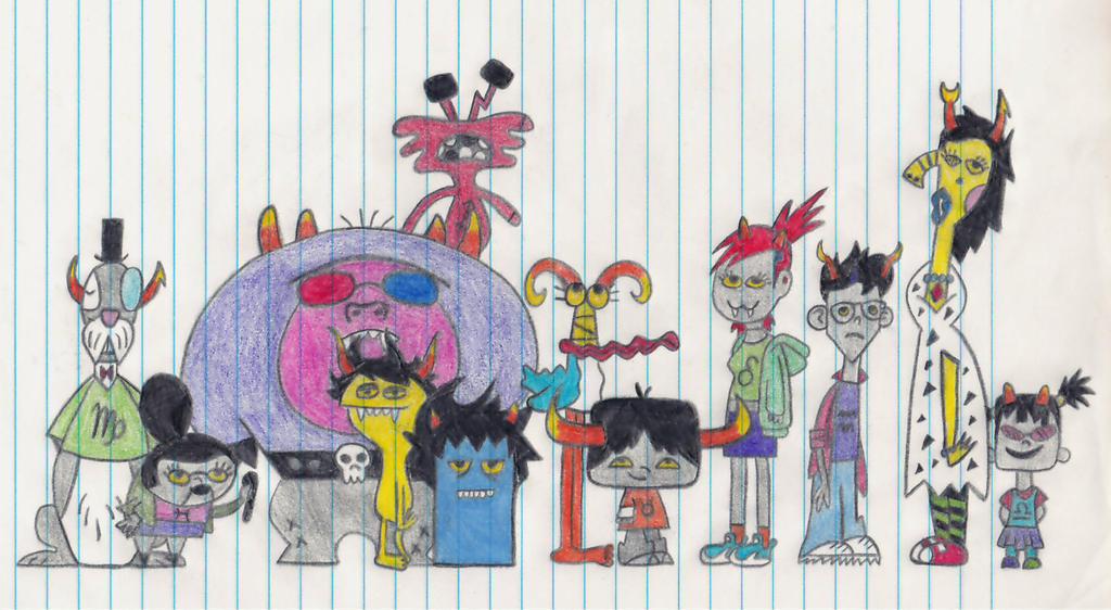 Foster's Home(stuck) For Imaginary Friends By