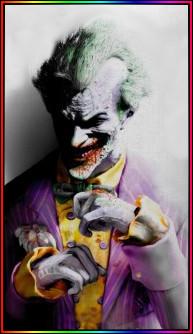 Joker colored by fannychichou