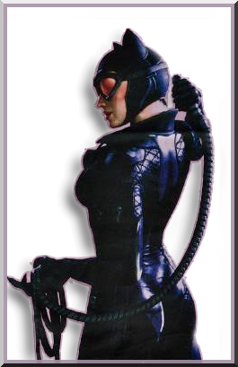 Catwoman colored by fannychichou