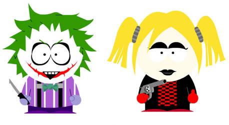 South Park : Joker and Harley