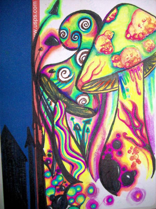 Pshychedelic Psilocybin by nicostars