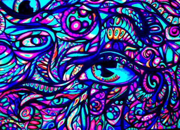 True self (under black light) by nicostars