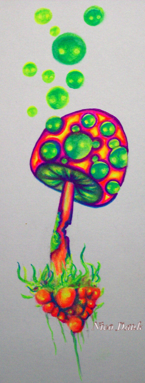 Mushroom!?!? by nicostars