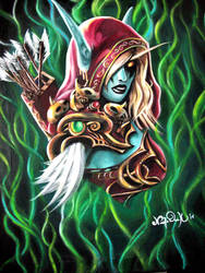 Lady Sylvanas by NicoDauk