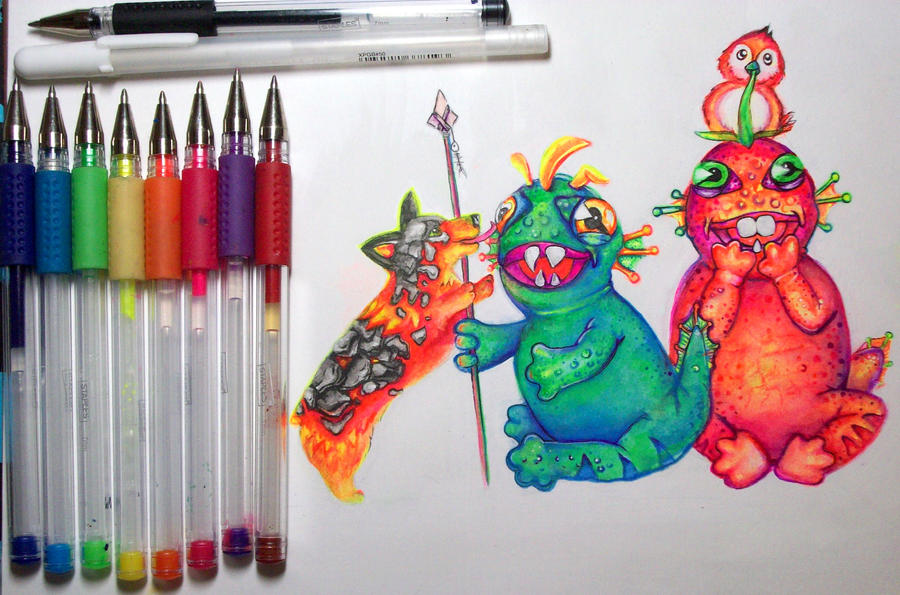 Baby Murlocs with Friends! by nicostars