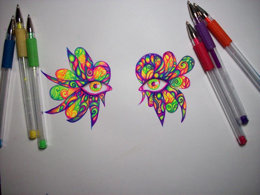 Wip(gel pens1) by nicostars