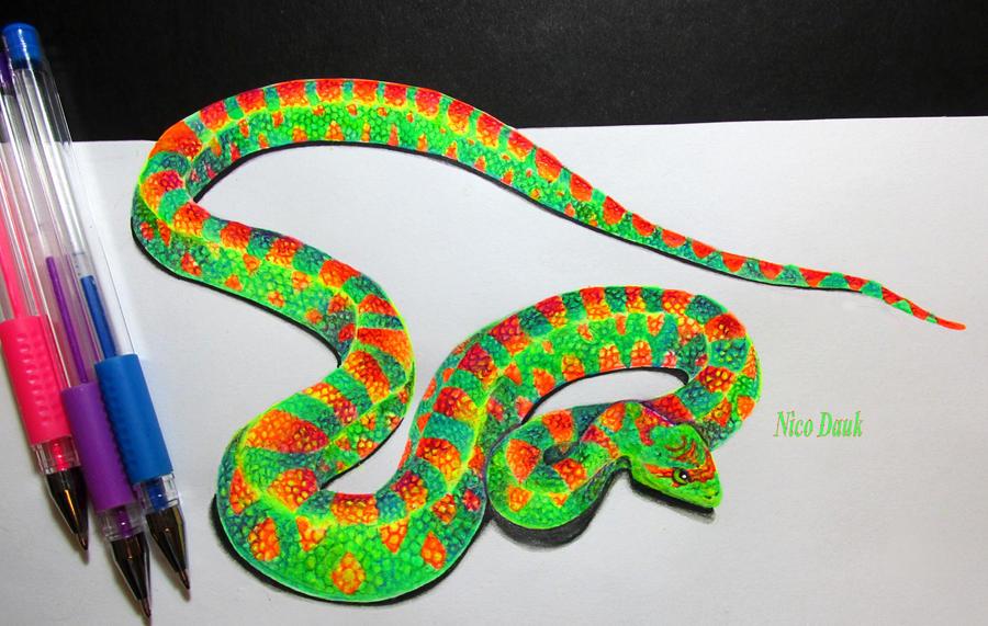 Jake the Snake by nicostars