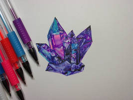 Gel Pen Crystals by NicoDauk