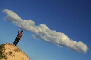 Push it away,Mr Cloud catcher. by incredi