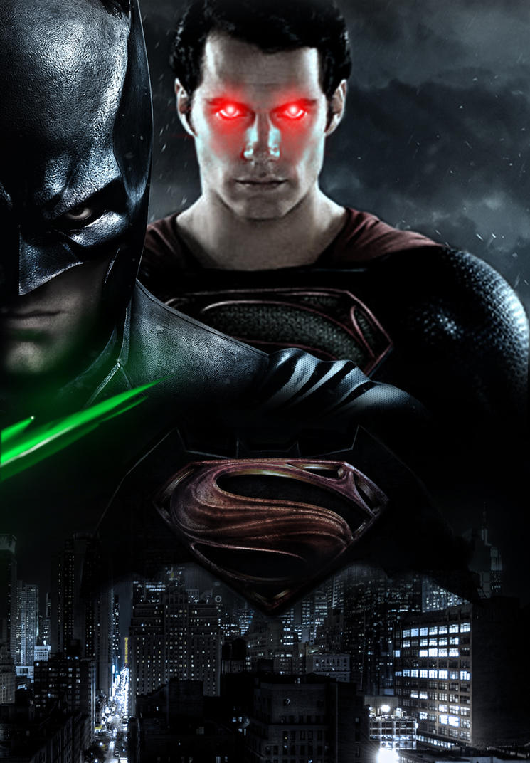 Batman vs. Superman_Poster_V2 by Ilyasali on DeviantArt