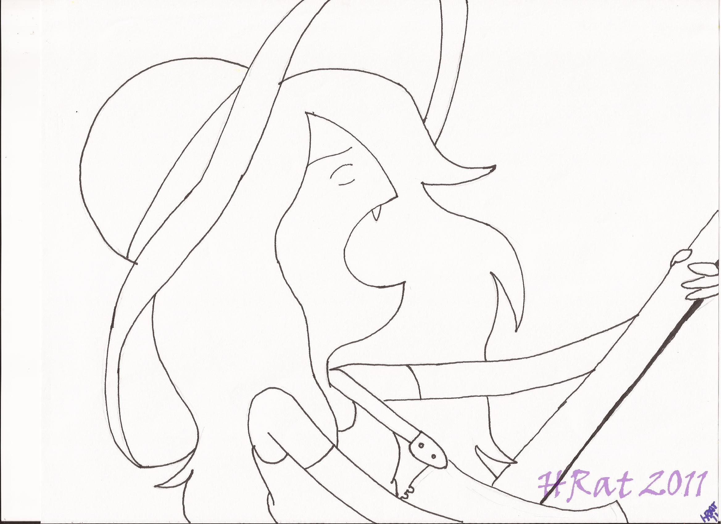 Marceline from Adventure Time by HNRat on DeviantArt