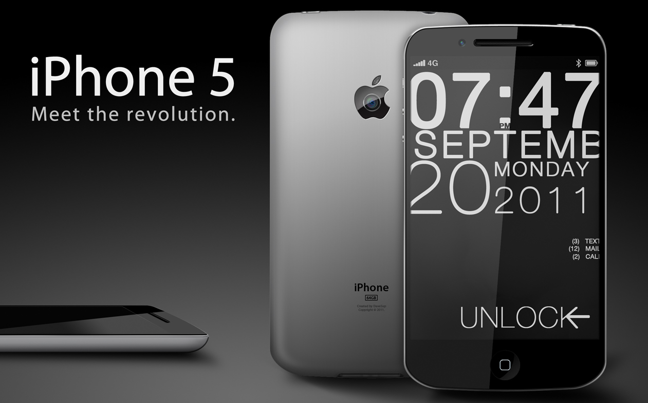 iPhone 5 concept by IartIless