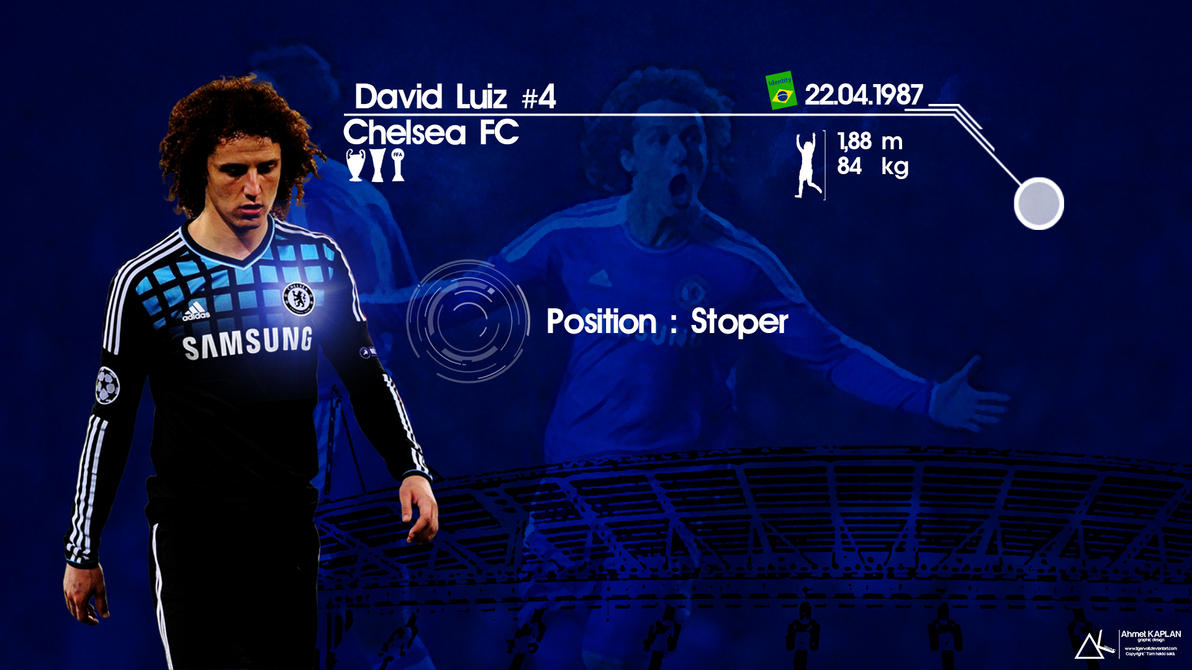 David Luiz Chelsea Wallpaper By Tigervolt On DeviantArt