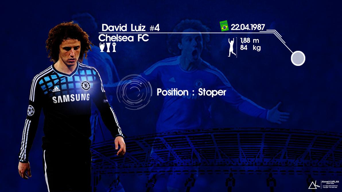 David Luiz Chelsea Wallpaper By Tigervolt On DeviantArt