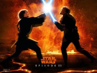 Star Wars Anikin vs Obiwan by JoScoRo