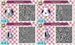 Animal Crossing New Leaf - Utatane Piko QR Code