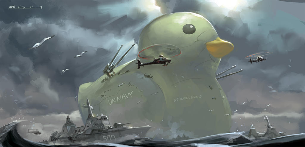 BIG RUBBER DUCK by tommy830219 on DeviantArt