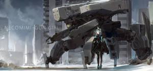 NECOMIMI X GUN GIRL 181208 by tommy830219